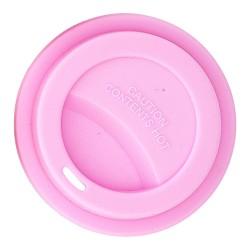 Coperchio per bicchieri rosa chiaro