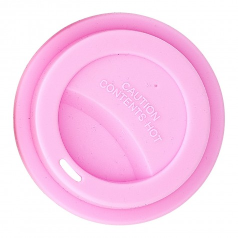 Silicone Lid for Our Melamine Tall Cup in soft pink