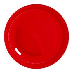 Coperchio per bicchieri rosso