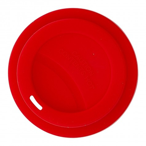 Silicone Lid for Our Melamine Tall Cup in red