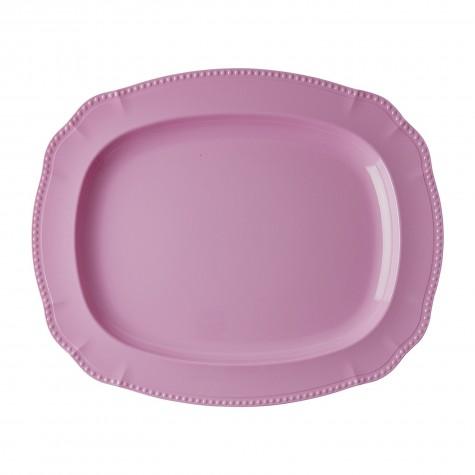 Melamine Serving Dish in New Look - Dark Pink