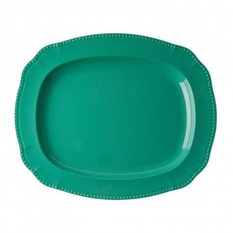 Melamine Serving Dish in New Look - Dark Green