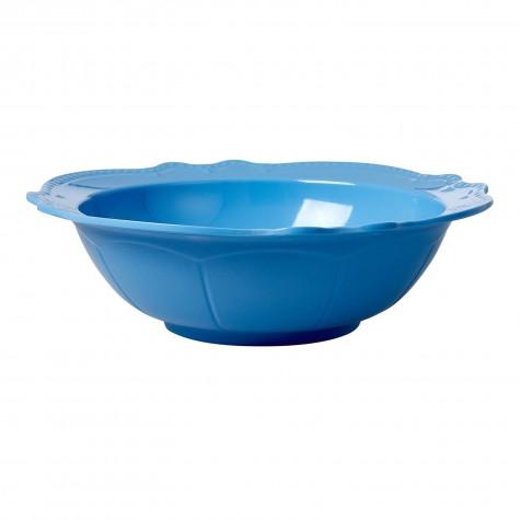 Melamine Salad Bowl in New Look - Sky Blue