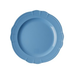 Melamine Dinner Plate in New Look - Sky Blue