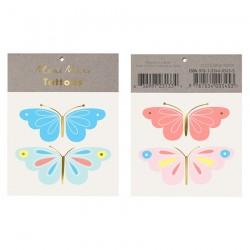 Tatuaggi temporanei, farfalle