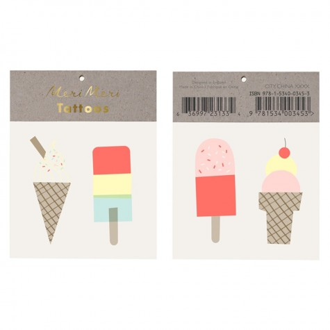 Ice Lolly Tattoo