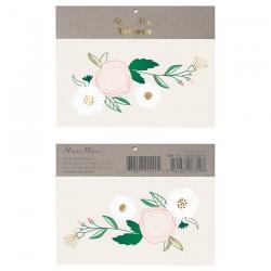 Tatuaggi temporanei, fiori e margherite