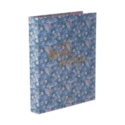 Ringbinder A4 with 2 Rings - Small Flower Print
