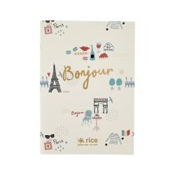 Quaderno A4 fantasia Parigi