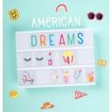Simboli Lightbox - Sogno Americano