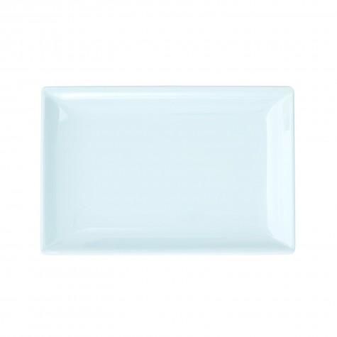 Piatto rettangolare piccolo, azzurro chiaro
