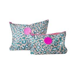 Set 2 borsine con fantasia leopardata