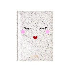 Quaderno A5 con faccina dolce