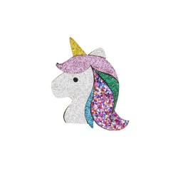 Fermaglio per capelli a forma di unicorno