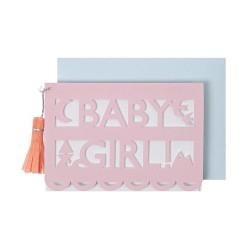 """Biglietto per nascita """"Baby Girl"""""""