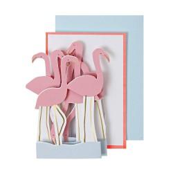 Biglietto di auguri Flamingo