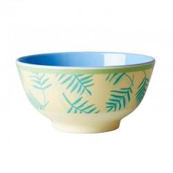 Tazza colazione - fantasia foglie di palma