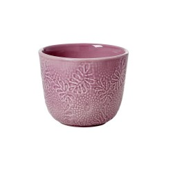 Mug in ceramica color lavanda