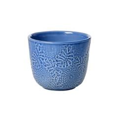 Mug in ceramica blu