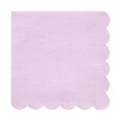 Tovaglioli di carta color lilla