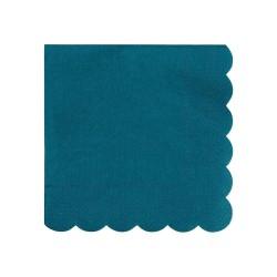 Tovagliolini di carta verde acqua scuro