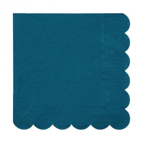 Tovaglioli di carta color verde acqua