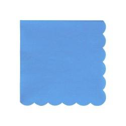 Tovagliolini di carta color blu