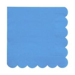 Tovaglioli di carta color blu