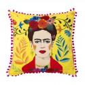 Cuscino con fantasia Boho Frida Kahlo