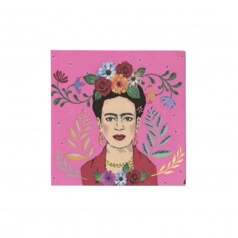 Tovaglioli di carta fantasia Boho Frida Kahlo
