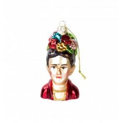 Decorazione natalizia per albero Boho Frida Kahlo