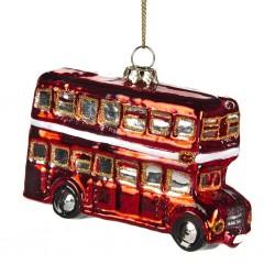 Decorazione natalizia - autobus londinese