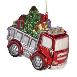 Decorazione natalizia - camion carico di doni