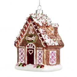 Decorazione natalizia - casetta di natale