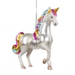 Decorazione natalizia - unicorno