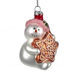 Decorazione natalizia - pupazzo di neve