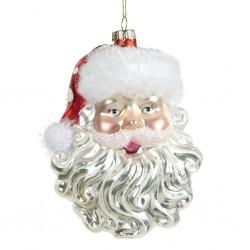 Decorazione natalizia - Faccina di Babbo Natale