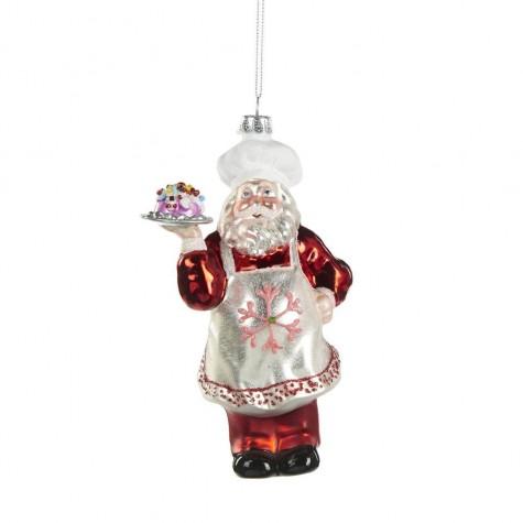 Decorazione natalizia - Babbo Natale chef
