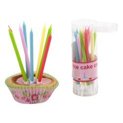 Candeline colorate per dolci