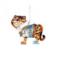 Decorazione natalizia - tigre funky