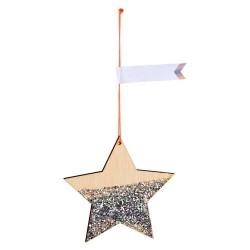 Etichette segnapacco a forma di stella