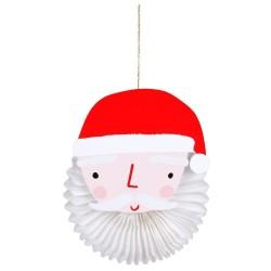 Biglietto di auguri Babbo Natale 3d