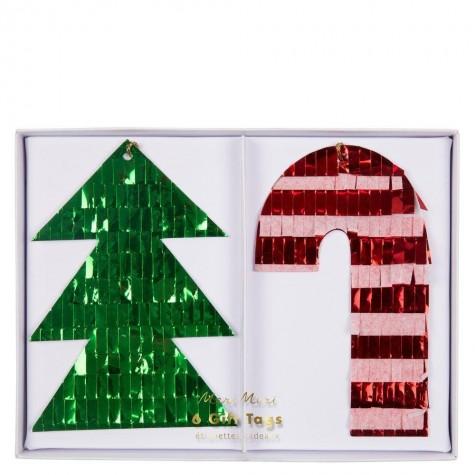Etichette regalo natalizie