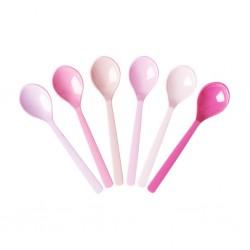 """Set di cucchiaini da tè """"50 sfumature di rosa"""""""