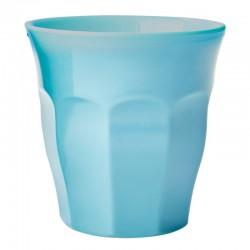 Bicchiere in melamina tinta unita turchese