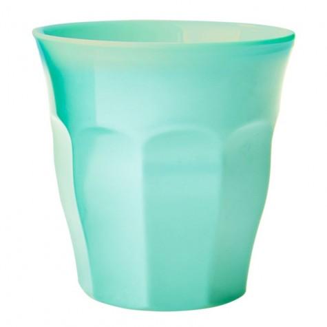 Bicchiere in melamina tinta unita verde acqua