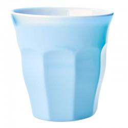 Bicchiere in melamina tinta unita azzurra