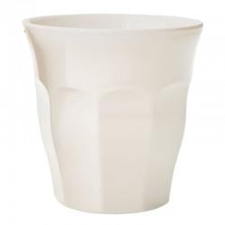 Bicchiere in melamina bianco sporco