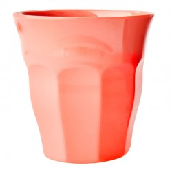 Bicchiere in melamina corallo acceso