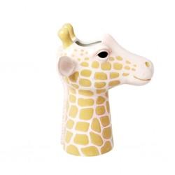 Vaso in ceramica a forma di giraffa